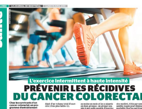 High-intensity interval exercise: to prevent recurrences of colorectal cancer
