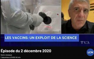 Richard Béliveau en entrevue à Denis Lévesque