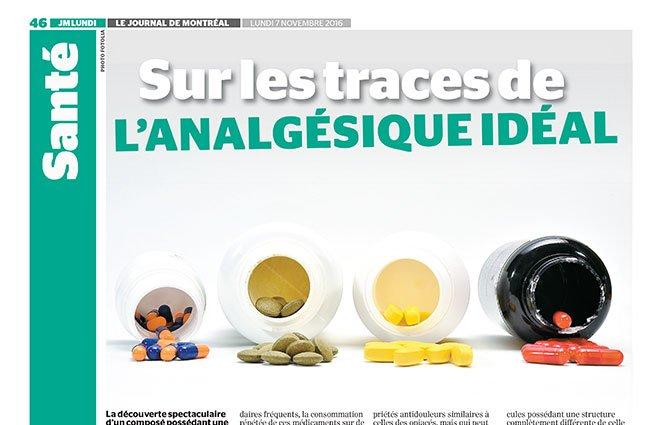 Chronique prévention de Richard Béliveau dans le Journal de Montréal