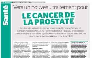 2017-07-10 Vers un nouveau traitement pour le cancer de la prostate