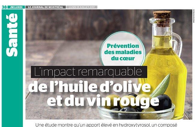 Prévention des maladies du coeur: l'impact remarquable de l'huile d'olive et du vin rouge