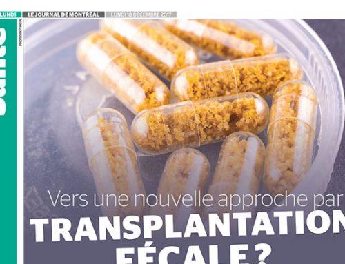 Vers une nouvelle approche par transplantation fécale ?