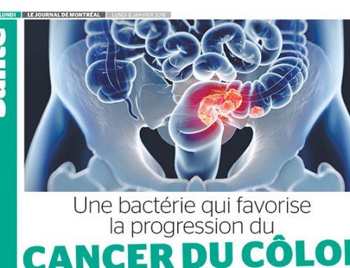 Une bactérie qui favorise la progression du cancer du côlon