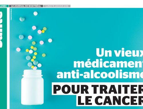 Un vieux médicament anti-alcoolisme pour traiter le cancer