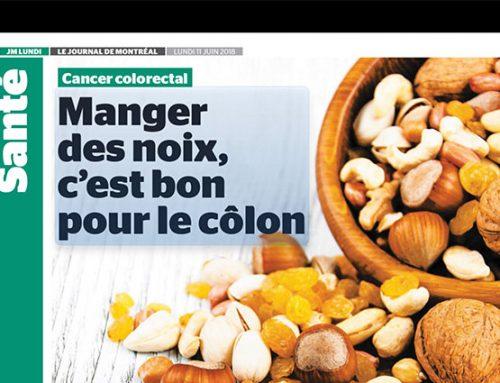 Manger des noix, c'est bon pour le côlon