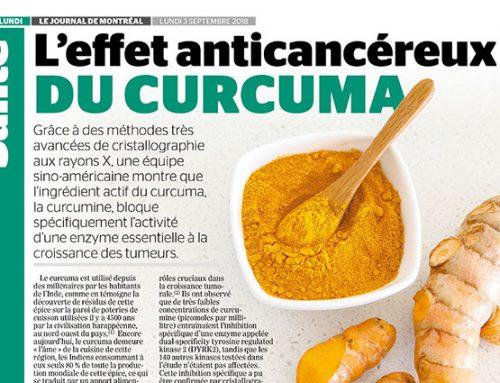 L'effet anticancéreux du curcuma