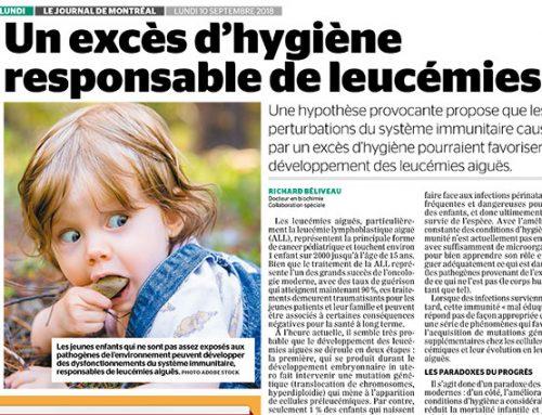 Un excès d'hygiène responsable de leucémies?