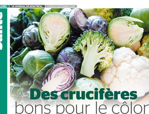 Cruciferous vegetables are good for the colon