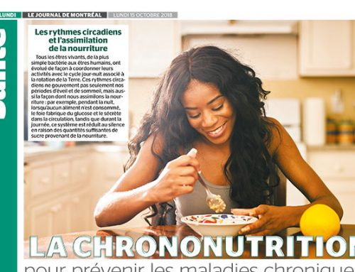 Chrono-nutrition for preventing chronic diseases