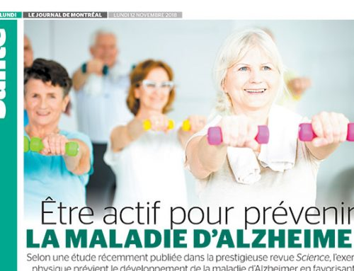 Be active to prevent Alzheimer's disease