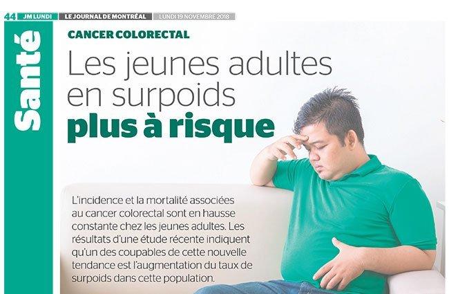 cancer colorectal jeune)