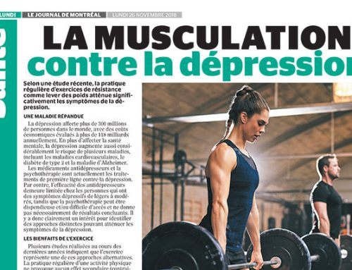 La musculation contre la dépression