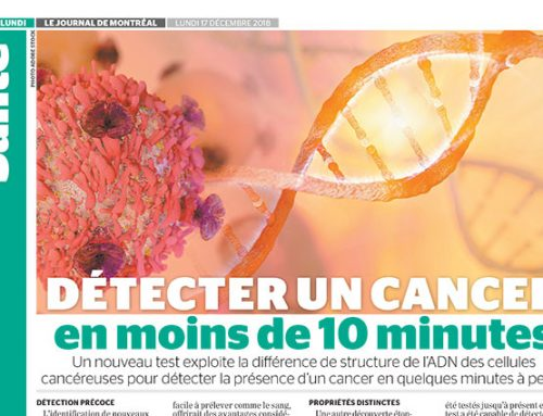 Detect a cancer in under 10 minutes