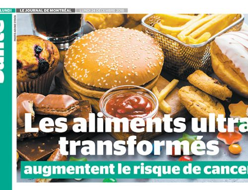 Les aliments ultra transformés augmentent le risque de cancer