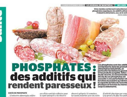 Phosphates : des additifs qui rendent paresseux !