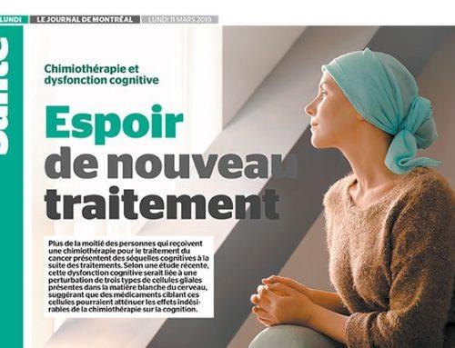 Chimiothérapie et dysfonction cognitive : Espoirt de nouveau traitement