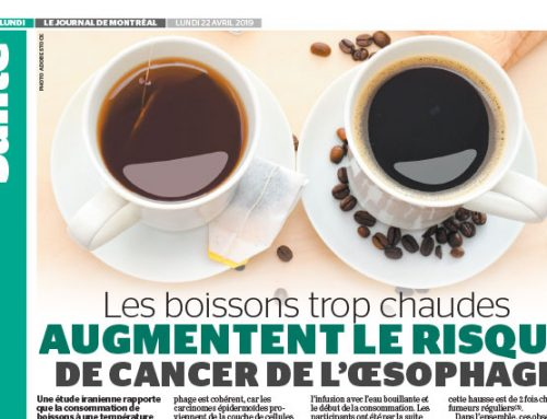 Overly hot drinks increase the risk for esophageal cancer