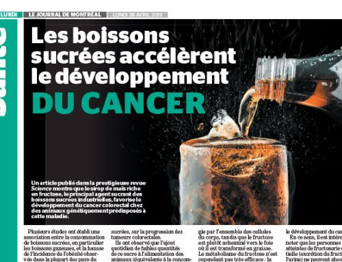 Sweetened drinks accelerate the development of cancer