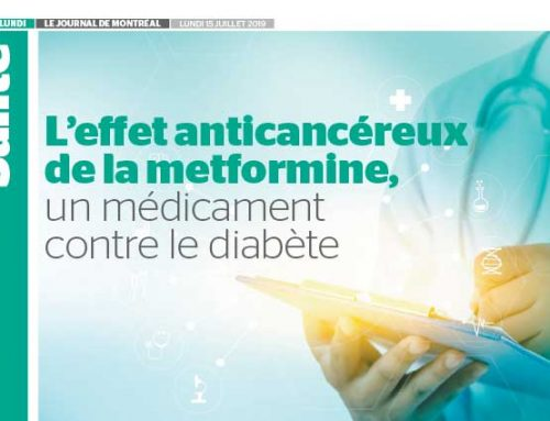 The anticancer effect of metformin, a drug which fights diabetes