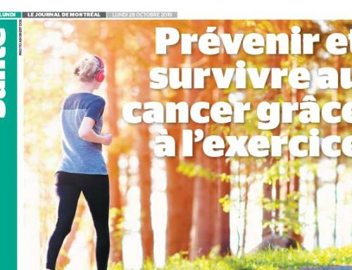 Prevention of, and survival from, cancer through exercise