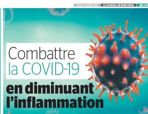Combattre la COVID-10 en diminuant l'inflammation