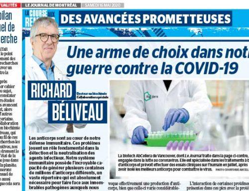 La course aux remèdes : Une arme de choix dans notre guerre contre la COVID-19