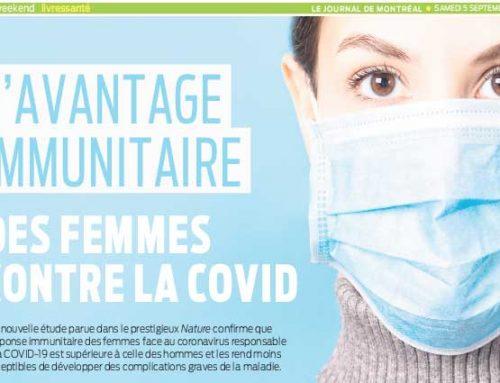 L'avantage immunitaire des  femmes contre la COVID-19