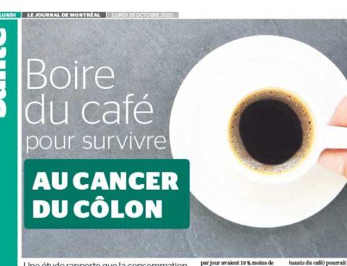 Boire du café pour survivre au cancer du côlon