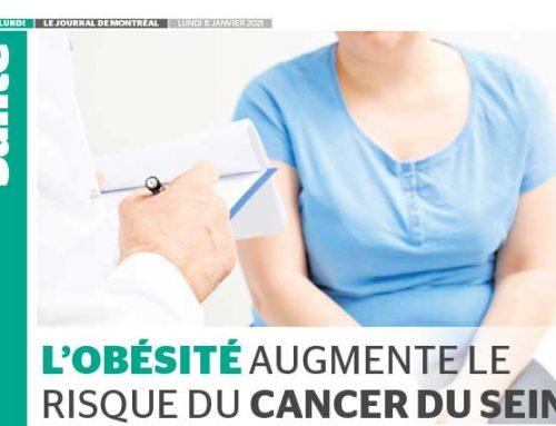 L'obésité augmente le risque de cancer du sein