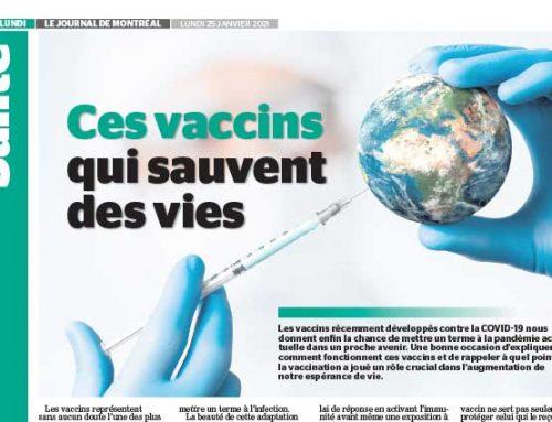 Ces vaccins qui sauvent des vies
