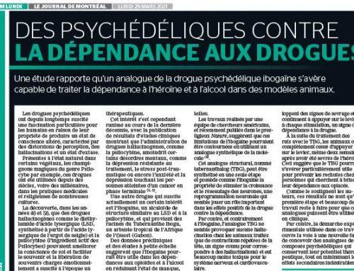 Des psychédéliques contre la dépendance aux drogues