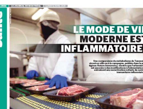 Le mode de vie moderne est inflammatoire!