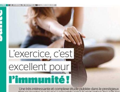L'exercice, c'est excellent pour l'immunité !