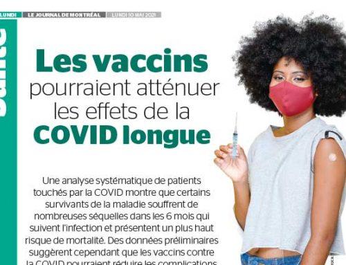 Les vaccins pourraient atténuer les effets de la COVID longue
