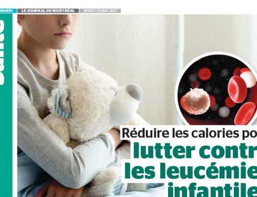 Réduire les calories pour lutter contre les leucémies infantiles