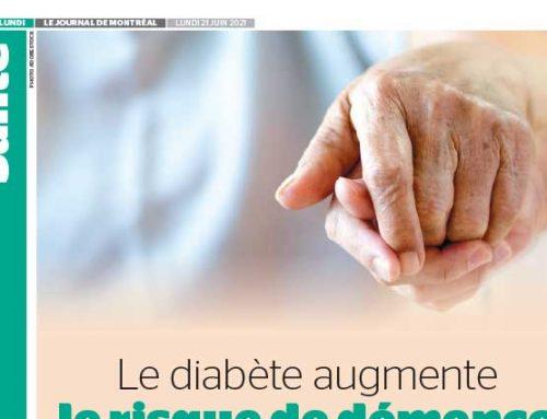 Le diabète augmente le risque de démence