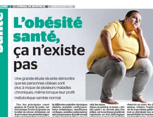 L'obésité santé, ça n'existe pas