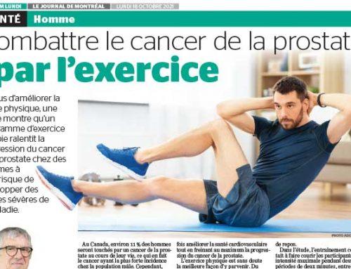 Combattre le cancer de la prostate par l'exercice